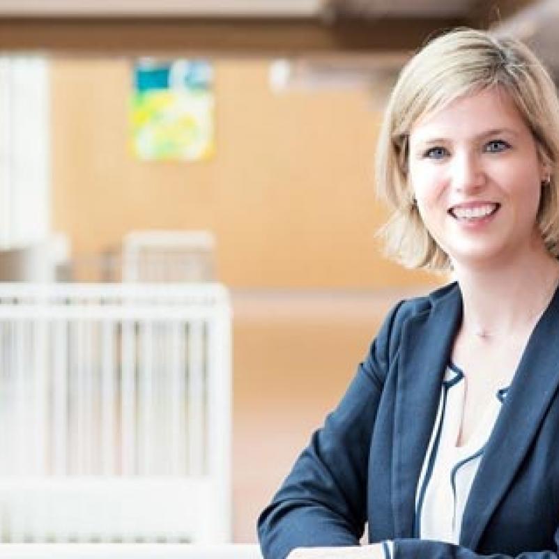 Onderzoeker Ingrid Desar