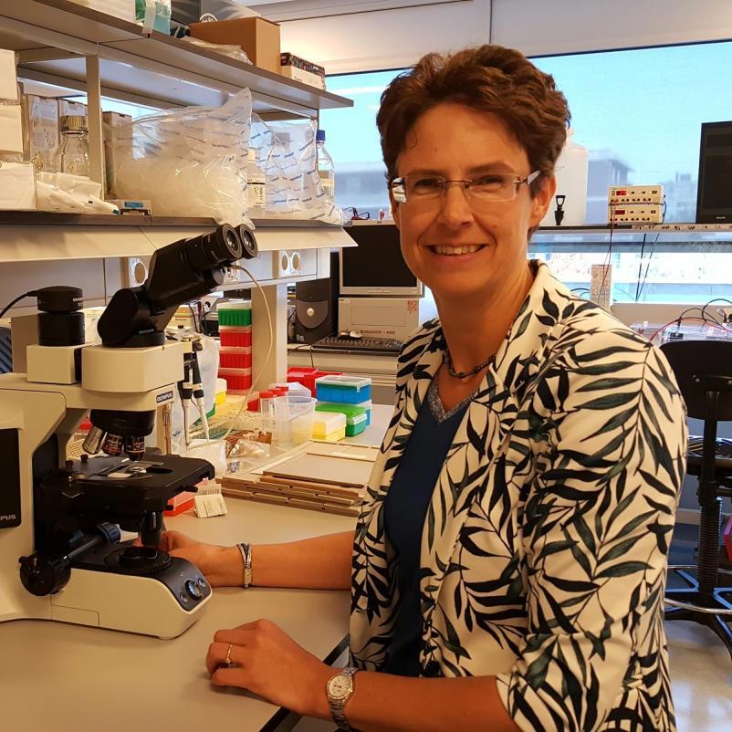 Onderzoeker Karin de Visser