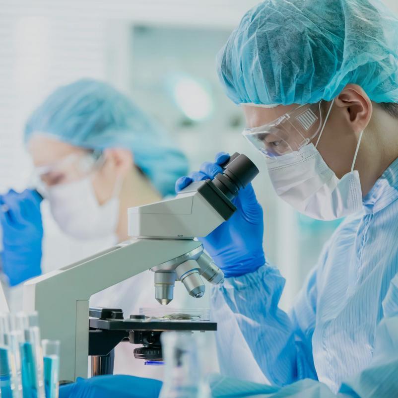 Laboratorium onderzoekers